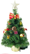 "Load image into Gallery viewer, 20"" Table-top Christmas Tree with Tree Topper"