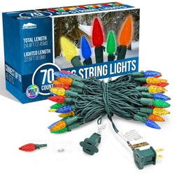 70-Count C6 Christmas Light (Multicolor)