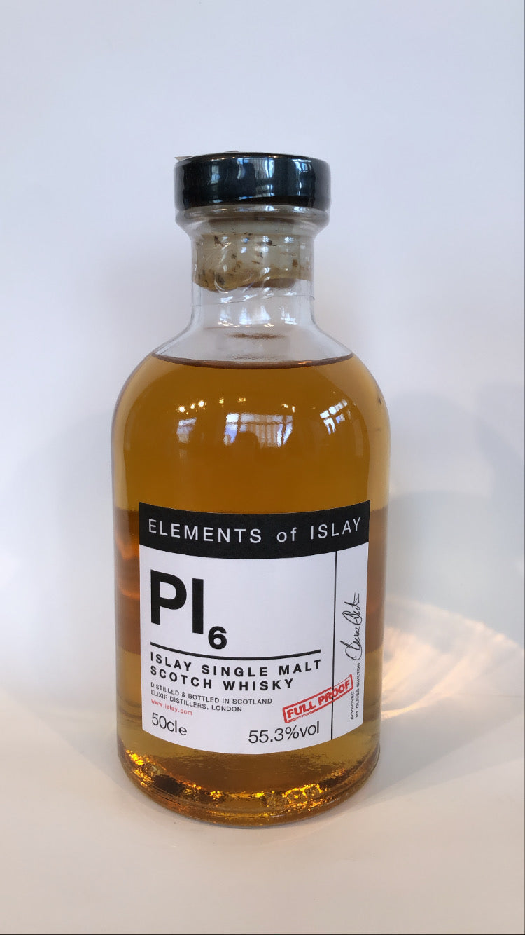 ELEMENTS of ISLAY - PI6 7years (55,3% Vol.) / Whisky