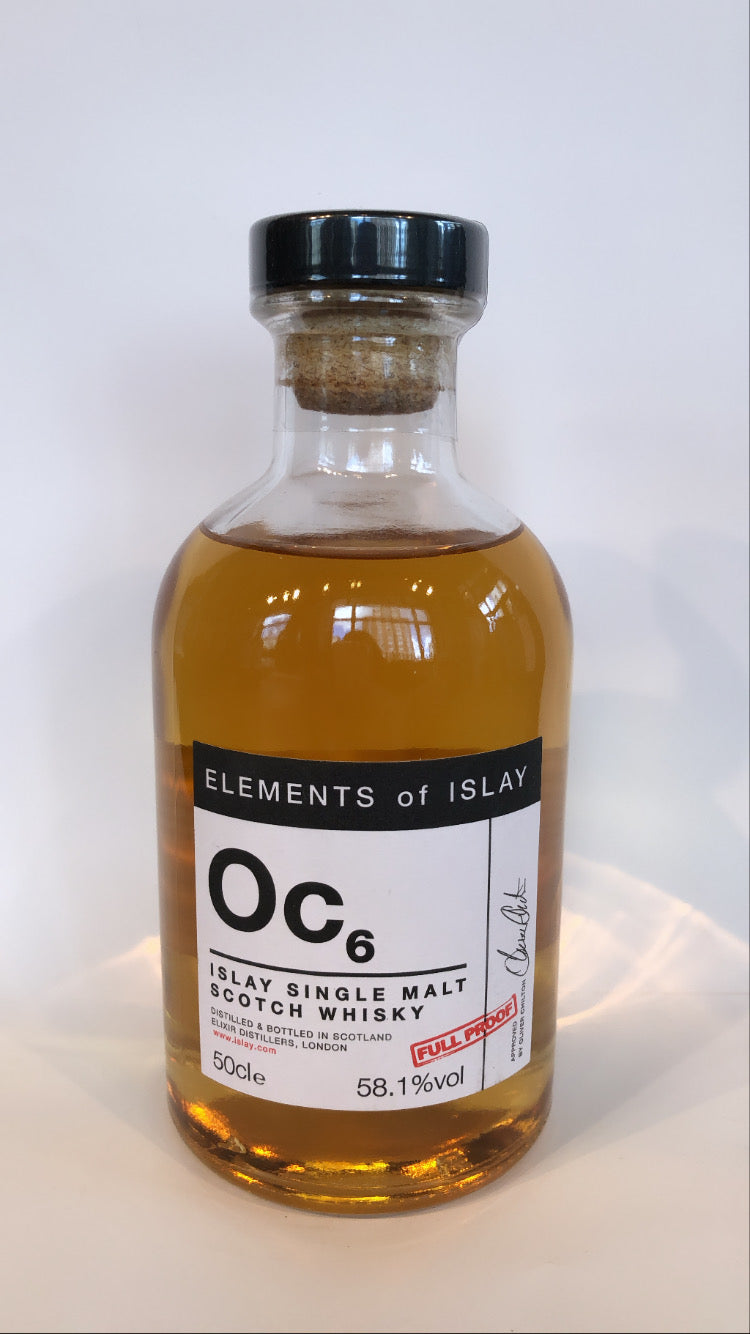 ELEMENTS of ISLAY - Octomore Oc6 8years (58,1% Vol.) / Whisky