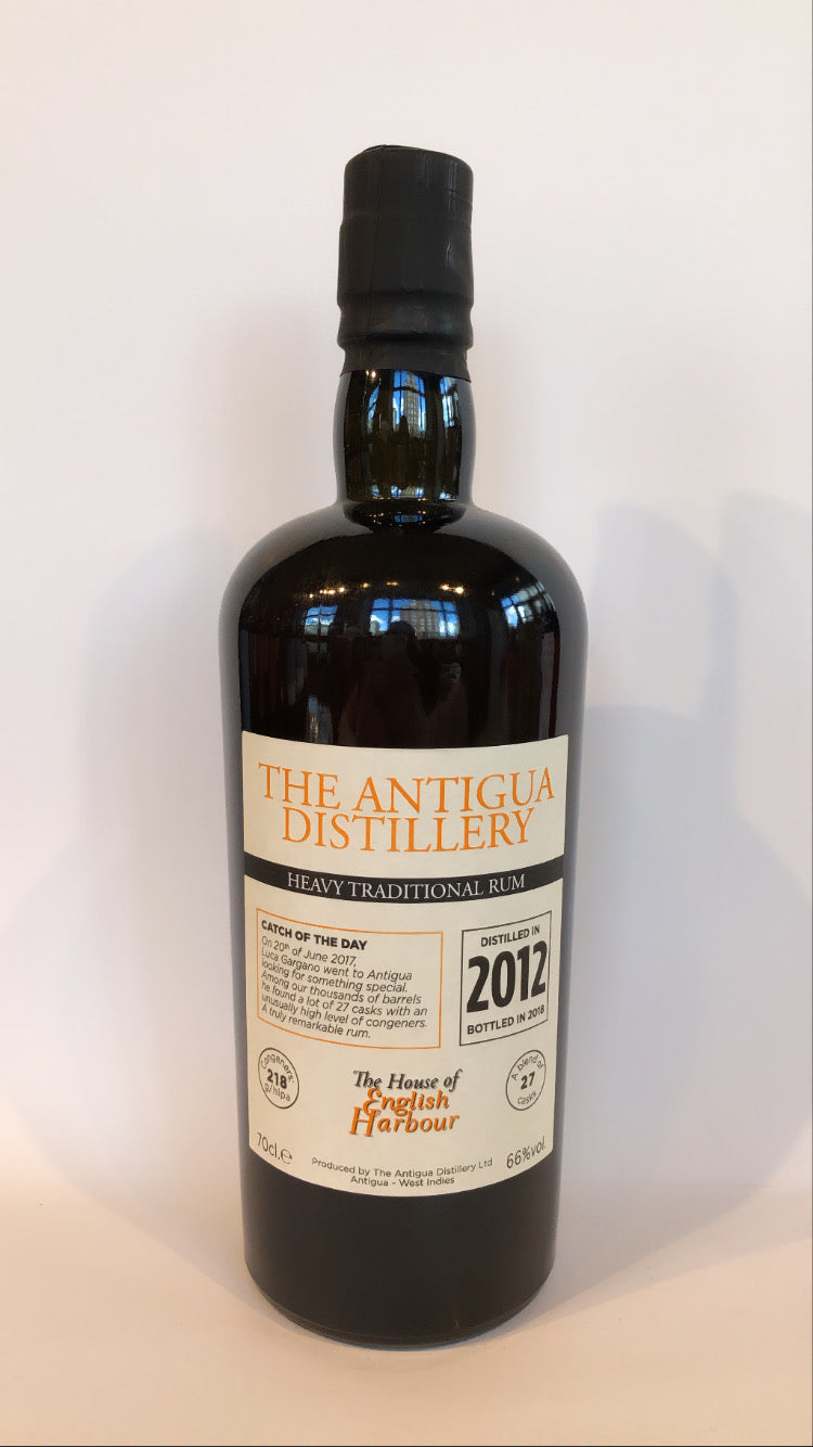 The Antigua Distillery - Heavy Traditional Rum 2012/2018 (66% Vol.)
