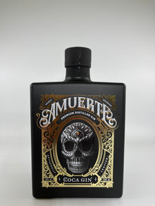 Amuerte Black Edition Coca Leaf Gin 43%vol.