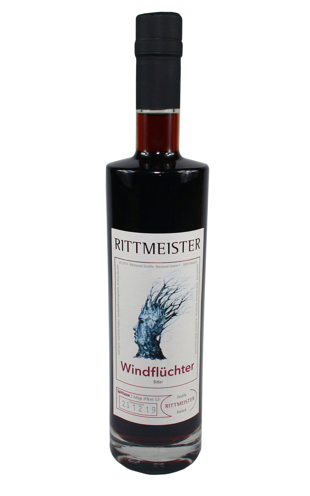Rittmeister - Windflüchter, limited Edition (39% Vol.) /Bitter