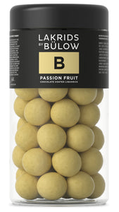 LAKRIDS BY BÜLOW - B - PASSION FRUIT CHOCOLATE COATED LIQUORICE