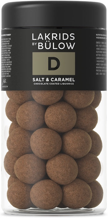 LAKRIDS BY BÜLOW - D- SALT & CARAMEL CHOCOLATE COATED LIQUORICE
