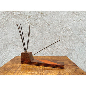 Wood & Leather Incense Burner