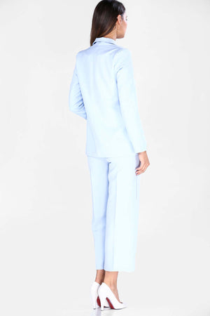 Women's Blue Jacket Pants Set