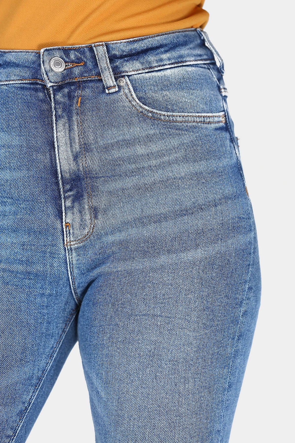 Women's Ripped Blue Jeans