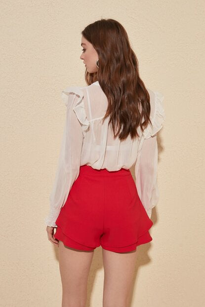 Women's Shorts-like Vermilion Shorts