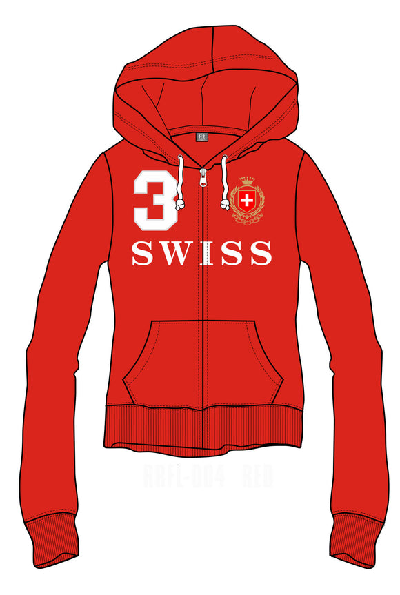 SWEATSHIRT WOMEN RED
