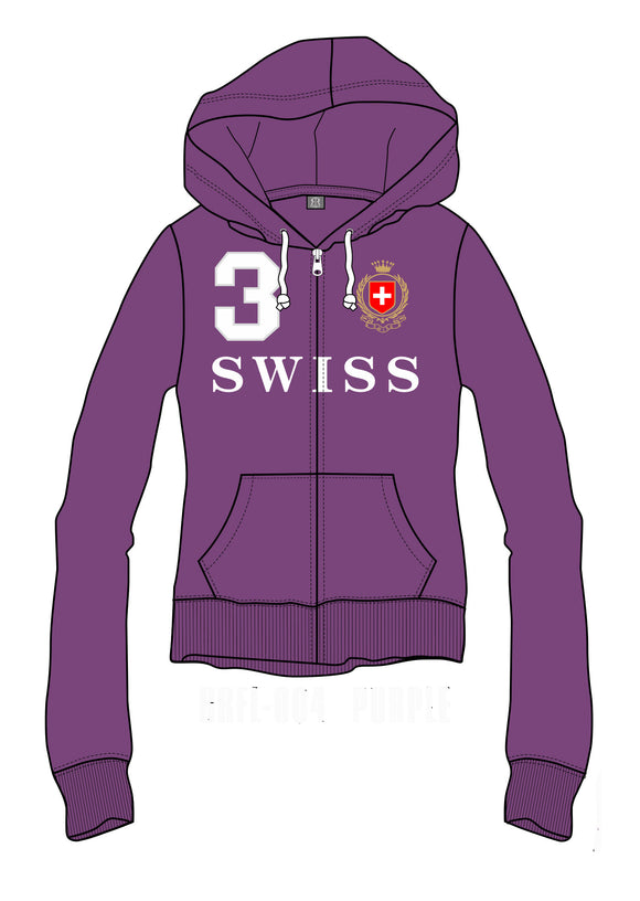 SWEATSHIRT WOMEN PURPLE