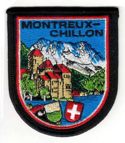 BADGE MONTREUX-CHILLON