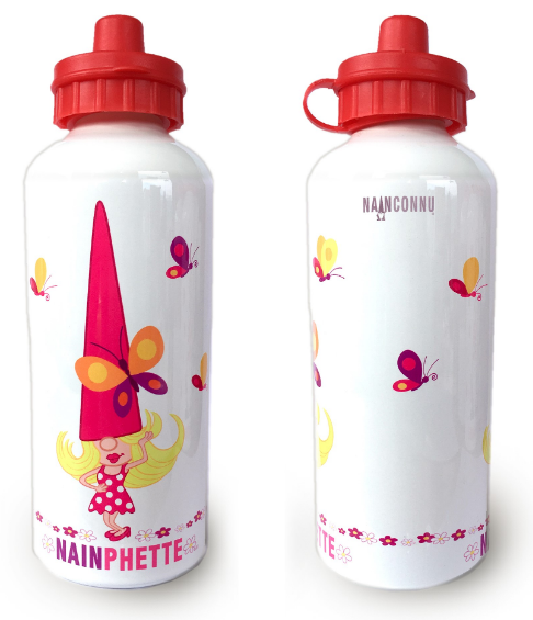 DRINKING BOTTLE 600ml NAINPECCABLE