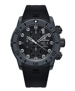 EDOX CO-1 CARBON CHRONOGRAPH AUTOMATIC 01125-CLNGN-NING