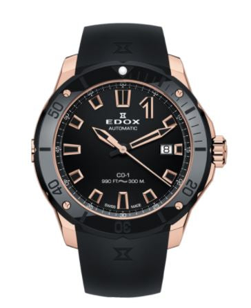 EDOX CO-1 DATE AUTOMATIC 80119-37RN-NIR