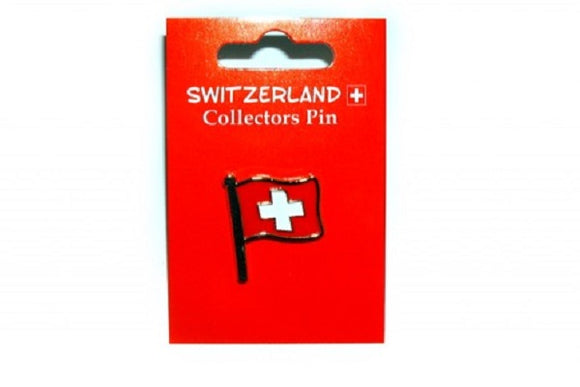 PIN SWISS FLAG