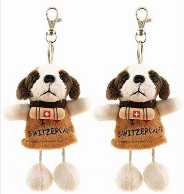 ST BERNARD DOG PLUSH