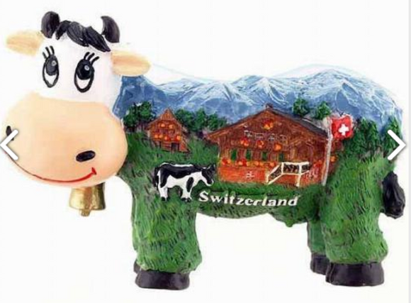 COW WITH SWISS CHALET
