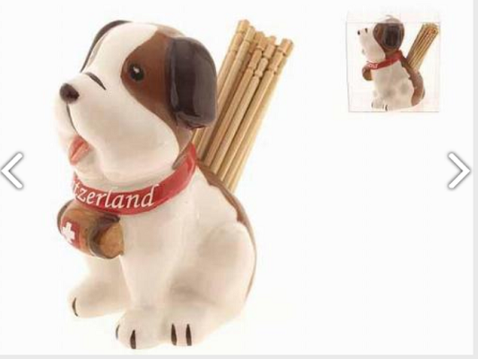 PORCELAIN TOOTH PICK - DOG