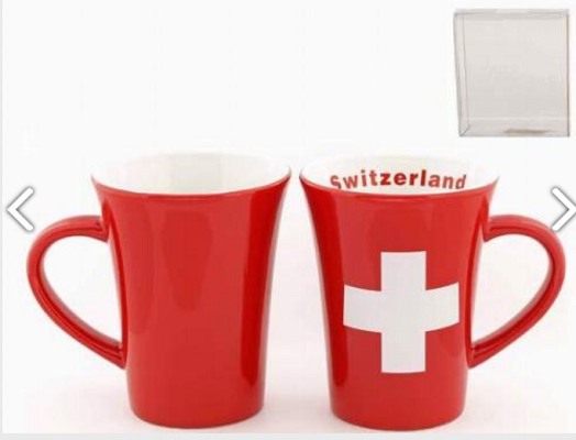 RED SWISS MUG