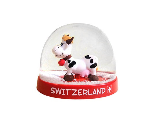 SNOW BALL PRETTY COW 9cm