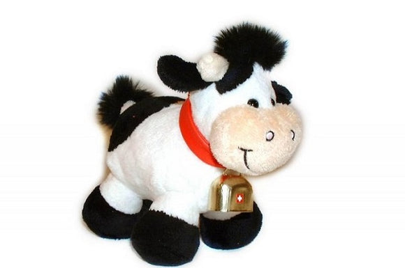 STANDING MILK COW 15cm WITH BELL