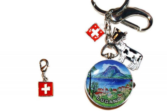 SWISS CHARM WITH LOBSTER HOOK CH-CROSS