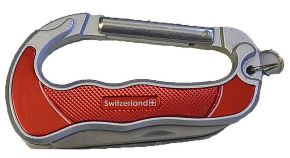 SWISS MULTITOOL CARABINER