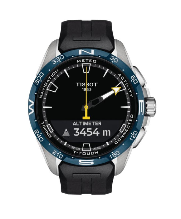 TISSOT T-TOUCH CONNECT  SOLAR JUNGFRAUBAHN SWISS EDITION T121.420.47.051.05