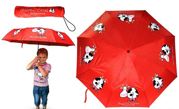 UMBRELLA RED MUMU COW