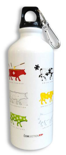 WHITE BOTTLE 600ml COWLECTION