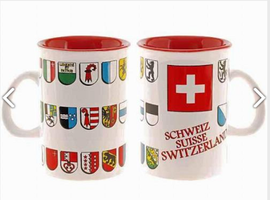 MUG WITH TOWNSHIP FLAGS