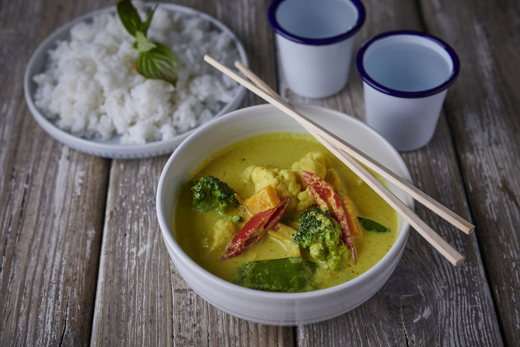 Thai Green Curry Vegan