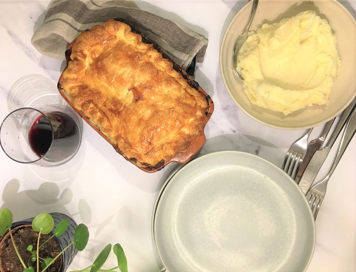 Chicken, Leek & Mushroom Pie – comfort food at its best!