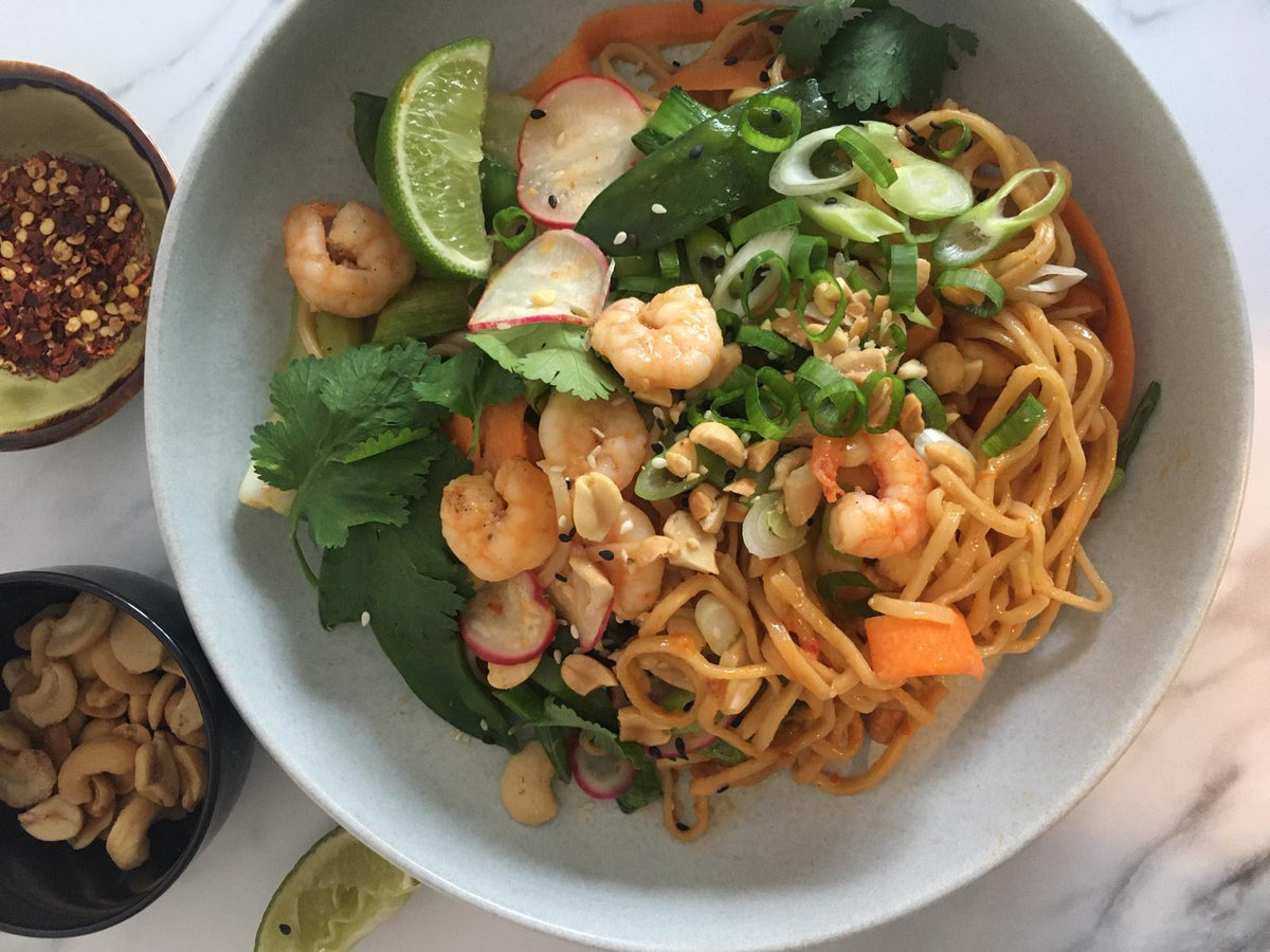 Bang Bang Prawn & Noodle Stir Fry