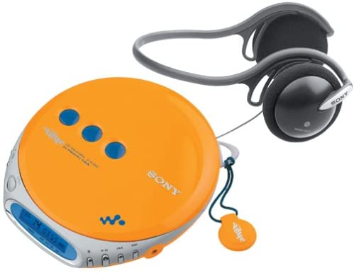 Sony D-EJ360 PSYC CD Walkman (Yellow)
