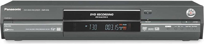 Panasonic DVD VIDEO RECORDER DMR-E55 - REORDING DVD-RAM/DVD-R (BLACK IN COLOR: WITHOUT REMOTE)