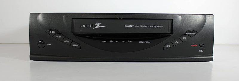 Zenith VRB410 VCR 4 Head Video Cassette Recorder Player