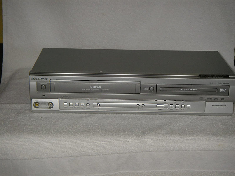MAGNAVOX 4 Head VCR & DVD Player Combination, Model MSD 805.