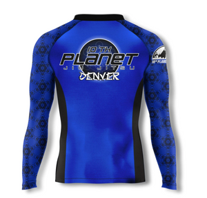 10PD Blue Belt Rashguard (Long Sleeve and Short Sleeve)