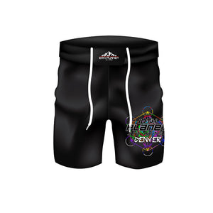 Colored Cube Shorts