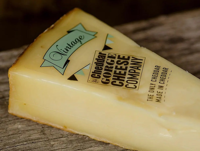 The Cheddar Gorge Cheese Company Vintage Cheddar 24 Months
