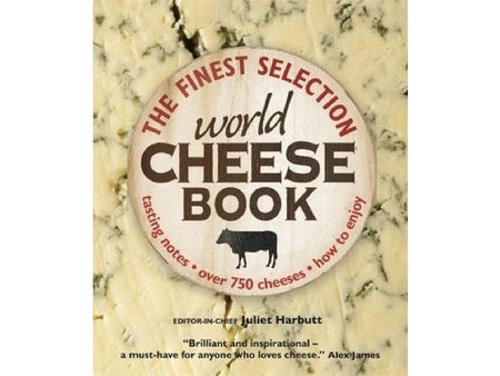 World Cheese Book - Juliet Harbutt is available from the Cotswold Cheese Company. A local Cotswolds shop in the heart of the Cotswolds