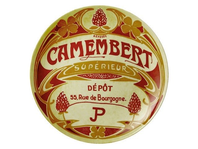 Camembert Plates are ideal for serving cheese and fruit and are available from the Cotswold Cheese Company