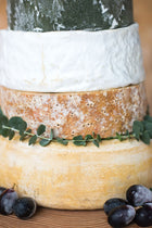 Bibury <p>Cheese Wedding Cake