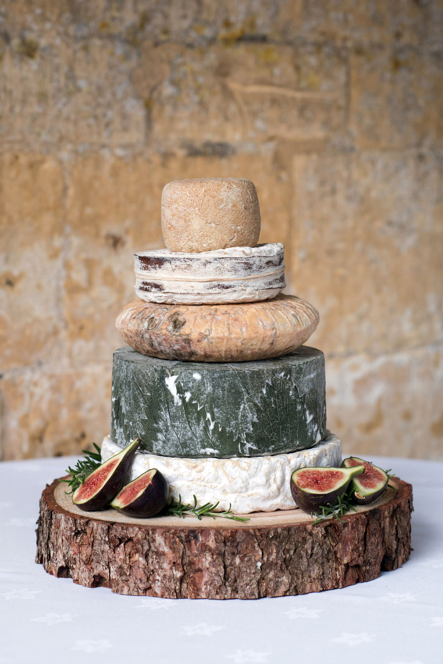 Tetbury<p>Cheese<p>Wedding Cake