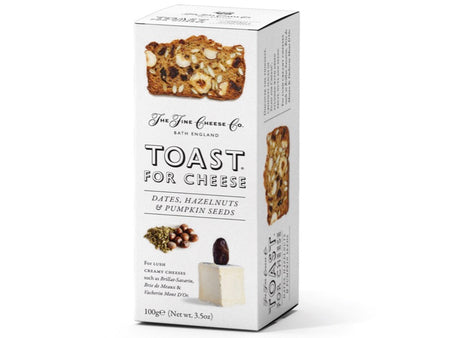 Toast for Cheese - Dates, Hazelnuts & Pumpkin