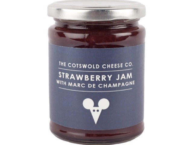 Strawberry Jam with Marc de Champagne