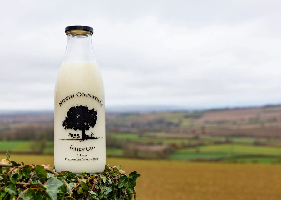 North Cotswold Dairy Whole Milk 1 litre