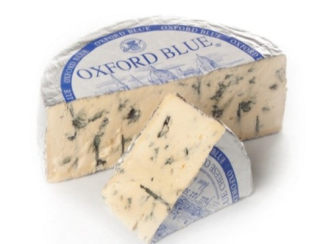 Oxford Blue Round Cheese is available from the Cotswold Cheese Company. A local Cotswolds shop in the heart of the Cotswolds